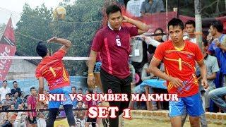 Download Hujan smesh BNIL VS SUMBER MAKMUR Open Turnamen Volly Ball Tugu Gajah | Deka Production Video