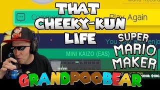 Download Mario Maker: 0.07% Cleared! Cheeky-Kun: The Cheekining Video