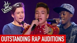 Download The Voice Kids | OUTSTANDING 'RAP' Blind Auditions [PART 1] Video
