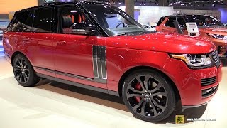 Download 2017 Range Rover SVA Autobiography Dynamic - Exterior and Interior Walkaround - 2016 LA Auto Show Video
