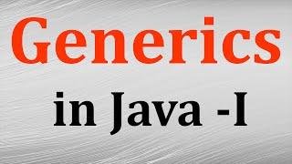 Download Generics in java # 1 - Introduction to Generics in java   Java tutorials by Java9s Video