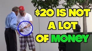 Download The Most Grateful Homeless Man Ever! Will Make You Cry | OmarGoshTV Video