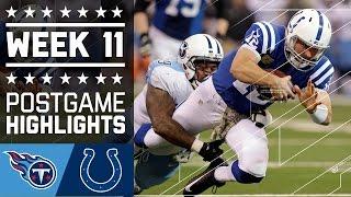 Download Titans vs. Colts   NFL Week 11 Game Highlights Video
