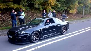 Download Nissan Skyline R34 GTR V Spec Nismo Omori Factory S1 Video