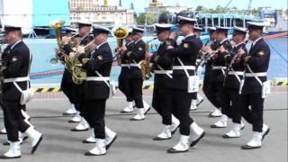Download Promocja oficerska AMW w Gdyni, defilada, Warszawianka Video