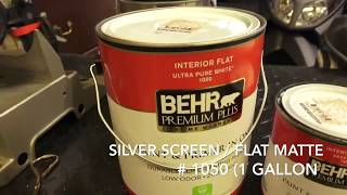 Download Projection Screen Painting Process In Less Than 3 Minutes Video