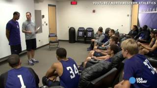 Download Northwestern basketball walk-on's scholarship surprise Video
