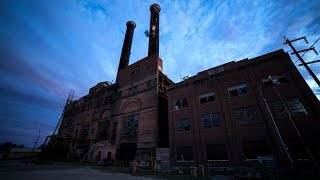 Download Set Off Loud Alarms at Abandoned Power Plant Video