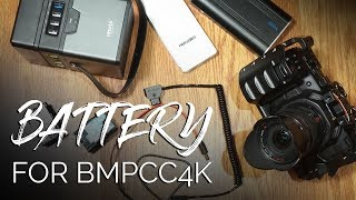 Download Battery Solutions for BMPCC4K Video