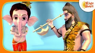 Download Bal Ganesha's Story   Ganesh Versus Parshuram (एकदन्त )   Kids Bhakti Video
