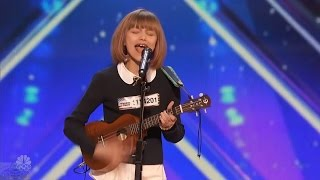 Download America's Got Talent 2016 Grace VanderWaal 12 Y.O. Singer Songwriter Full Audition Clip S11E02 Video