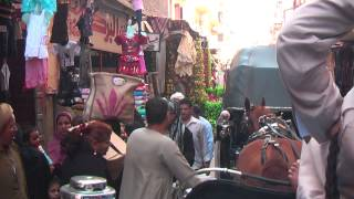 Download A totally different world to us on the streets of Luxor, Egypt Video