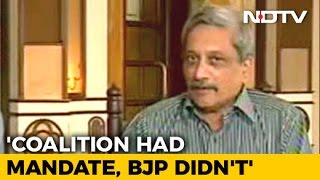 Download Decision To Form Government Taken In 12 Hours, Says Manohar Parrikar Video