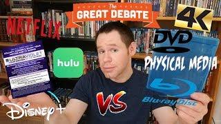 Download The Great Debate: Physical Media V.S. Streaming! Video
