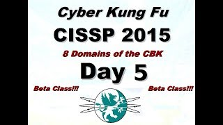 Download Larry Greenblatt's 8 Domains of CISSP - Day 5 (From 2015) Video