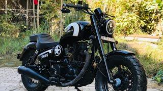 Download Royal Enfield modified | bike modification | Into Harley davidson | Vampvideo Video