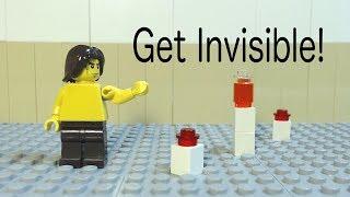 Download Get Invisible! (Lego Brickfilm Ad) Video