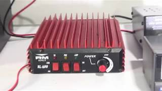 Download RM KL400 Power Tested CB RADIO LINEAR AMP. Video