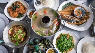 Download Thai Seafood at Bangpoo - DELICIOUS Crispy Fish and Sour Soup | สุดยอดอาหารทะเลที่บางปู สมุทรปราการ Video