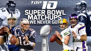 Download Top 10 Dream Super Bowl Matchups We Never Got | NFL Highlights Video