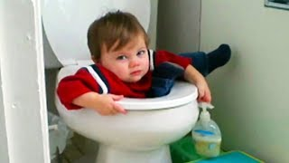 Download FUNNY FAILS of Babies You Can't Watch Without LAUGHING - Hilarious Babies Compilation Video