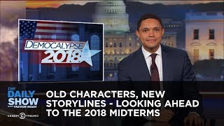 Download Old Characters, New Storylines - Looking Ahead to the 2018 Midterms: The Daily Show Video