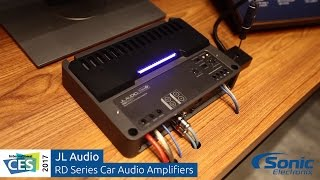 Download JL Audio RD Series Car Amplifiers | Clipping LED Demonstration | CES 2017 Video