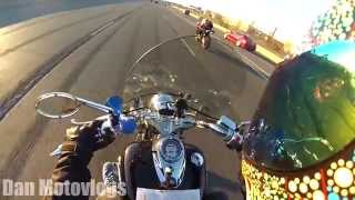 Download TWO RIDERS MEET | CBR 600RR Vs 650cc VSTAR RAW (Cruiser vs. Sportbike) Highway Hooliganism Video