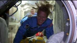 Download New Crewmates Welcomed Aboard Station Video