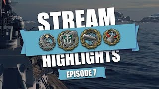 Download World Of Warships - Stream Highlights [Episode 7] - PreNerfed Hindy's Kick Video