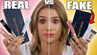 Download TESTING REAL vs FAKE Makeup! WORTH IT or TOSS IT?! Video