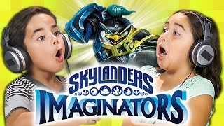 Download MAGICAL BATTLES! Skylanders Imaginators (Kids React: Gaming) Video