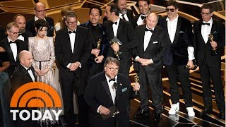 Download Politically Charged Oscars Award 'The Shape Of Water' Best Picture | TODAY Video