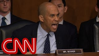 Download Cory Booker rips DHS chief's ″amnesia″ over Trump comments Video