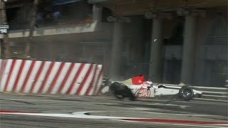 Download Jenson Button Crash Compilation in F1 Video