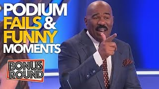Download EPIC PODIUM Family Feud Fails & Funny Moments With Steve Harvey! Video