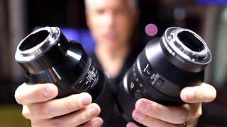 Download Sony vs Sigma 135mm f/1.8 Portrait Lens Comparison Video