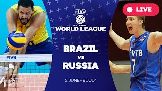 Download Brazil v Russia - Group 1: 2017 FIVB Volleyball World League Video