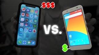 Download $10 Smartphone Vs. $1000 Smartphone! Video