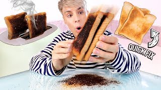 Download i tested hacks to fix ALREADY RUINED food items Video
