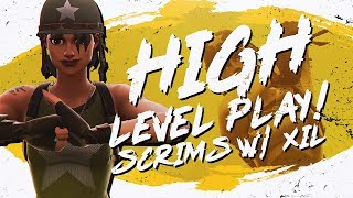 Download HIGH LEVEL SCRIMS! INTENSE BATTLES Ft. Xil (Fortnite BR Full Match) Video