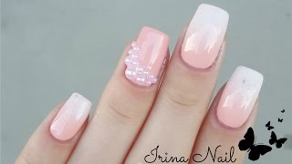 Download 💅 Babyboomer with nail polish   Ombre French   Irina Nail Video