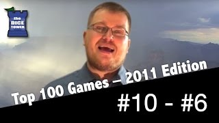 Download 2011: Tom Vasel's Top 100 Games of All Time: # 10 - # 6 Video
