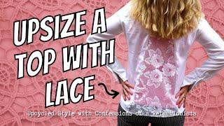 Download Upsize a Blouse: a DIY Refashion Tutorial Video