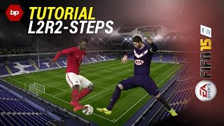 Download FIFA 15 TUTORIAL | How to use the L2R2-Steps | Beat the defender | Tipps and Tricks [PS4/Xbox One] Video