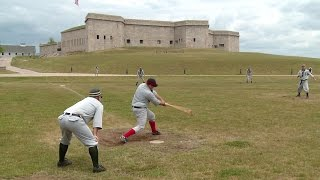 Download A friendly game of baseball, 1861 style Video