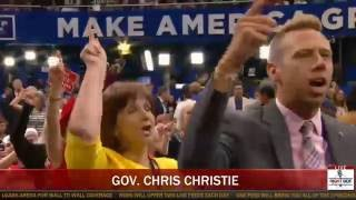 Download 'LOCK HER UP!' RNC Crowd ERUPTS as Chris Christie Destroys Crooked Hillary Clinton Video