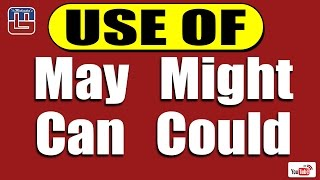 Download USE OF MAY, MIGHT, CAN & COULD SERIES | ENGLISH | ALL COMPETITIVE EXAMS Video