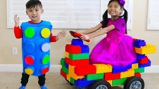Download Wendy Pretend Play Transform Blocks to Toy Car & Fun Kids Toys Video