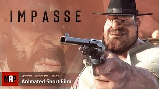 Download CGI 3D Animated Short Film ″IMPASSE″ Western Action Animation by James Hall Video